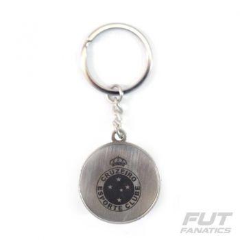 Chaveiro Cruzeiro Bola Escudo