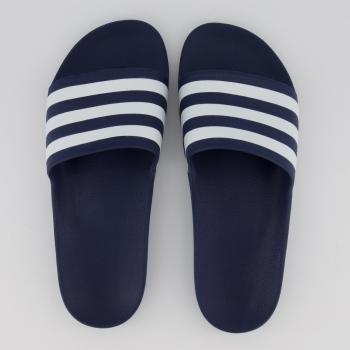 Chinelo Adidas Adilette Aqua Marinho e Branco