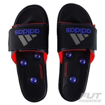 Chinelo Adidas RC Massage Pro Vermelho
