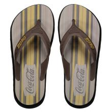 Chinelo Coca Cola Deck Wood Board Marrom