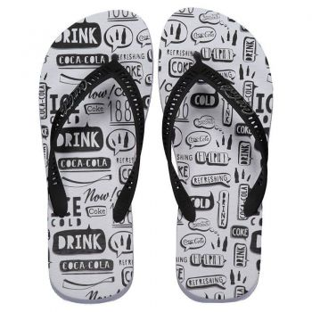 Chinelo Coca Cola Speech Branco