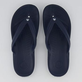 Chinelo Crocs Crocband Flip Marinho