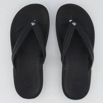 Chinelo Crocs Crocband Flip Preto