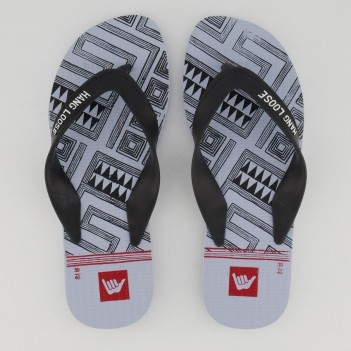 Chinelo Hang Loose Plus Azul e Preto