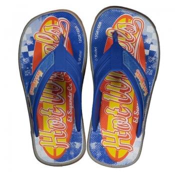 Chinelo Hot Wheels Super Flop Light Speed Infantil