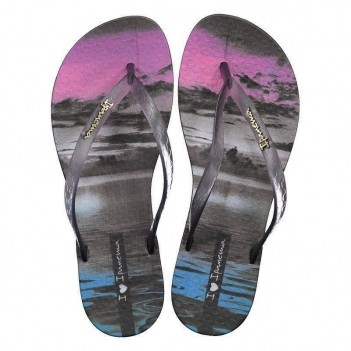 Chinelo Ipanema Wave Tropical Feminino Preto