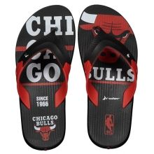 Chinelo Rider Double NBA Chicago Bulls Preto