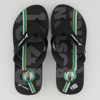 Chinelo Rider NBA Boston Celtics Bold Preto