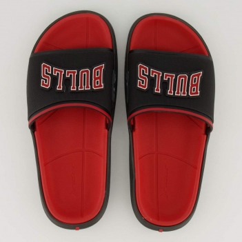 Chinelo Rider NBA Chicago Bulls Block Preto