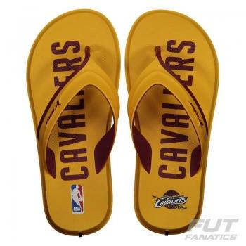 Chinelo Rider NBA Cleveland Cavaliers Amarelo
