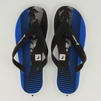 Chinelo Rider R1 Flow Branco e Azul