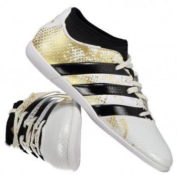 Chuteira Adidas Ace 16.3 Primemesh In Futsal Juvenil Branca
