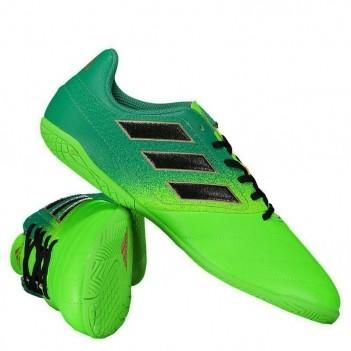 Chuteira Adidas Ace 17.4 IN Futsal Juvenil Verde