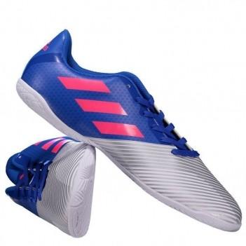 Chuteira Adidas Artilheira 17 IN Futsal Juvenil Azul