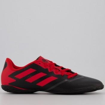 Chuteira Adidas Artilheira IV IN Futsal Preta e Vermelha