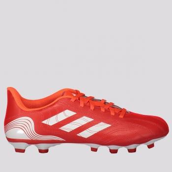 Chuteira Adidas Copa 21.4 FXG Campo Vermelha