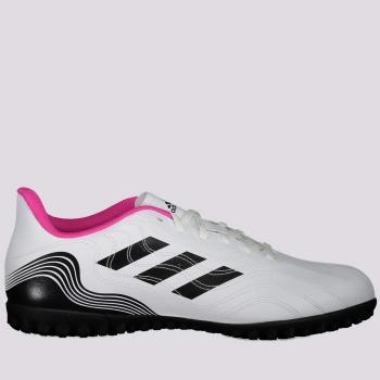 Chuteira Adidas Copa 21.4 TF Society Branca