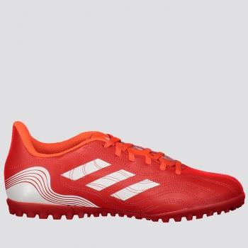 Chuteira Adidas Copa 21.4 TF Society Vermelha