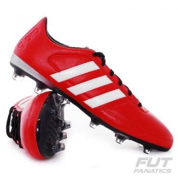 Chuteira Adidas Gloro 16.1 FG Campo Vermelha