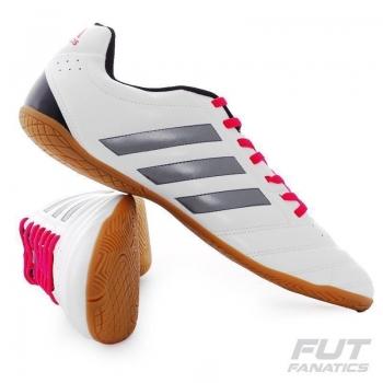 Chuteira Adidas Goletto V IN Futsal Branca