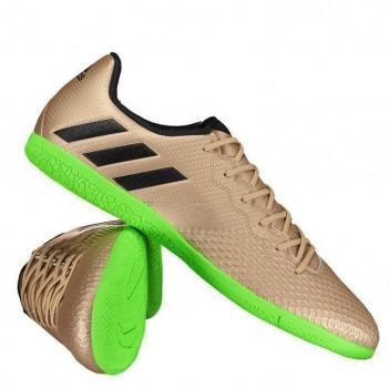Chuteira Adidas Messi 16.3 IN Futsal Dourada