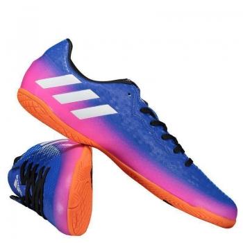 Chuteira Adidas Messi 16.4 IN Futsal Juvenil Azul