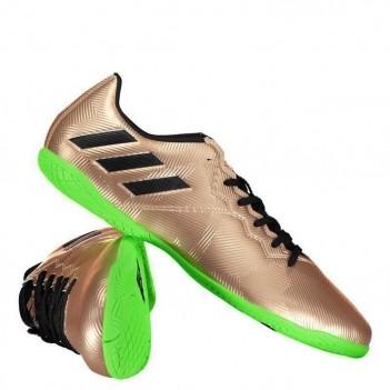 Chuteira Adidas Messi 16.4 IN Futsal Dourada Juvenil