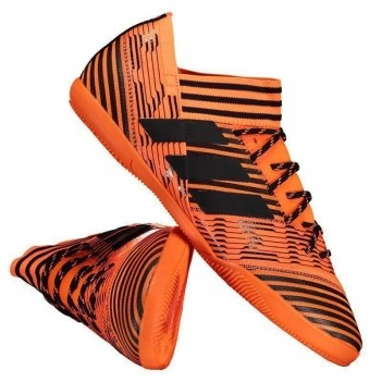 Chuteira Adidas Nemeziz 17.3 IN Futsal Laranja