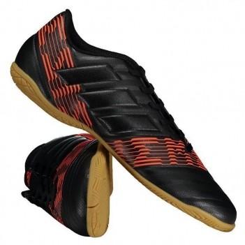 Chuteira Adidas Nemeziz 17.4 IN Futsal Preta