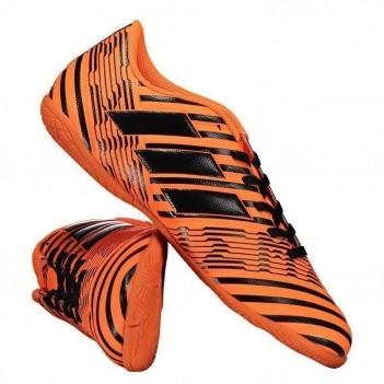 Chuteira Adidas Nemeziz 17.4 IN Futsal Laranja
