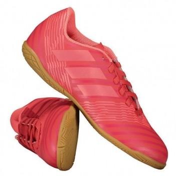 Chuteira Adidas Nemeziz 17.4 IN Futsal Juvenil Vermelha