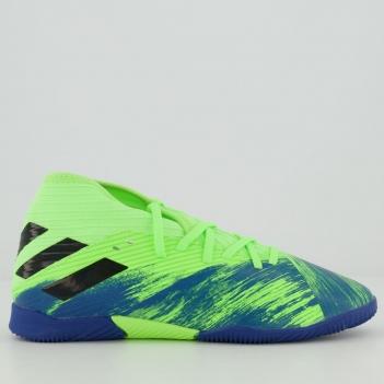 Chuteira Adidas Nemeziz 19.3 In Futsal Juvenil Verde