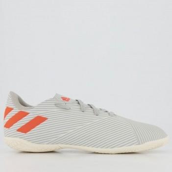 Chuteira Adidas Nemeziz 19.4 Futsal Juvenil Cinza