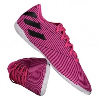 Chuteira Adidas Nemeziz 19.4 IN Futsal Rosa