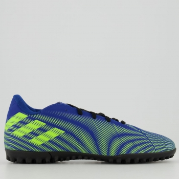 Chuteira Adidas Nemeziz 20.4 TF Society Azul