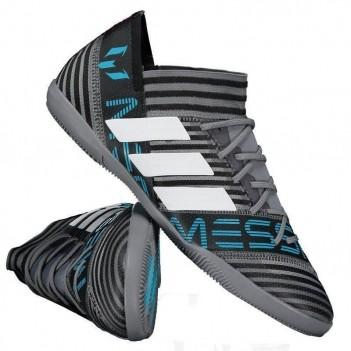 Chuteira Adidas Nemeziz Messi 17.3 IN Futsal Cinza