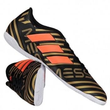 Chuteira Adidas Nemeziz Messi 17.4 IN Futsal Preta