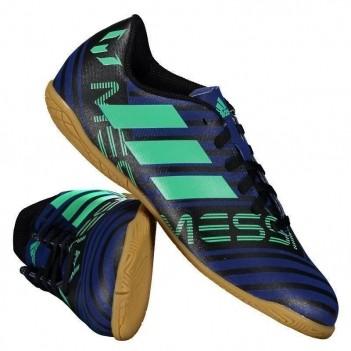 Chuteira Adidas Nemeziz Messi 17.4 IN Futsal Juvenil Azul