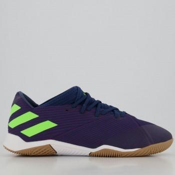 Chuteira Adidas Nemeziz Messi 19.3 IN Futsal Marinho