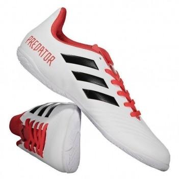 Chuteira Adidas Predator 18.4 IN Futsal Branca