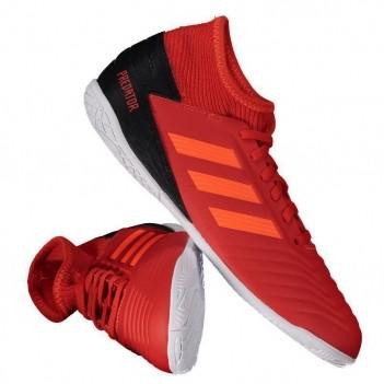 Chuteira Adidas Predator 19.3 IN Futsal Juvenil Vermelha
