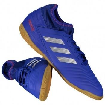 Chuteira Adidas Predator 19.3 IN Futsal Juvenil Azul