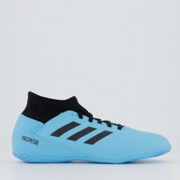 Chuteira Adidas Predator 19.3 IN Futsal Juvenil Azul Claro
