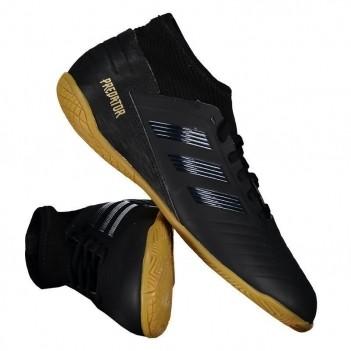 Chuteira Adidas Predator 19.3 IN Futsal Juvenil Preta