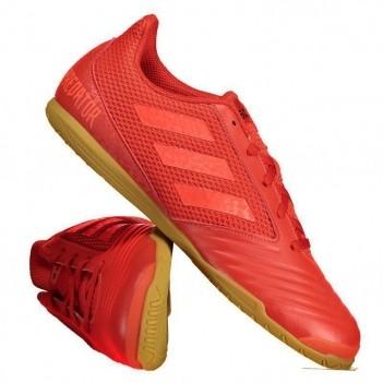 Chuteira Adidas Predator 19.4 IN Futsal Vermelha