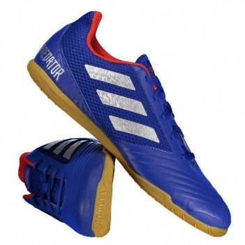 Chuteira Adidas Predator 19.4 IN Futsal Azul