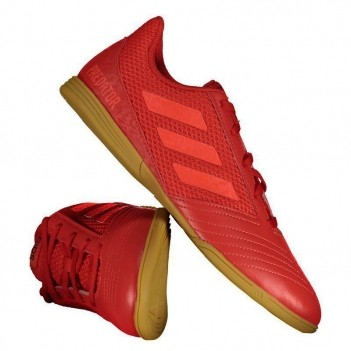 Chuteira Adidas Predator 19.4 IN Futsal Juvenil Vermelha