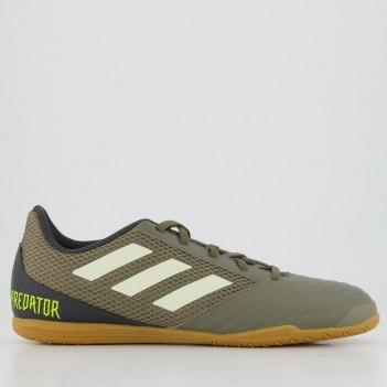 Chuteira Adidas Predator 19.4 IN Futsal Verde