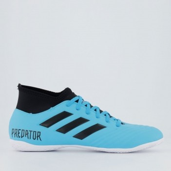 Chuteira Adidas Predator 19.4 S IN Futsal Azul