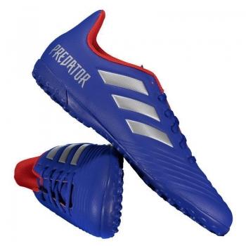 Chuteira Adidas Predator 19.4 TF Society Azul